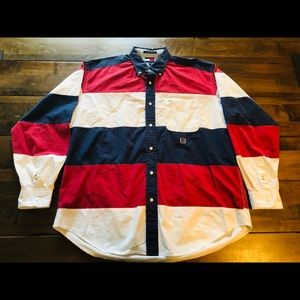 Vintage Tommy Hilfiger button down shirt